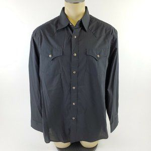 Pendleton Long Sleeve Black Western Frontier Shirt